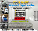 accident repair centre business templates