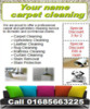 Carpet Cleaning Business Templates forms