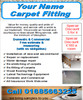 Carpet Fitting Business Templates forms