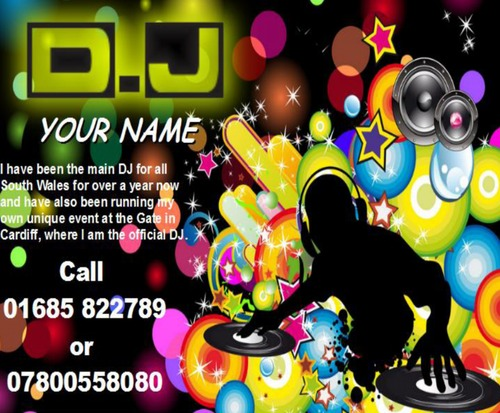 Product picture DJ Business Templates forms