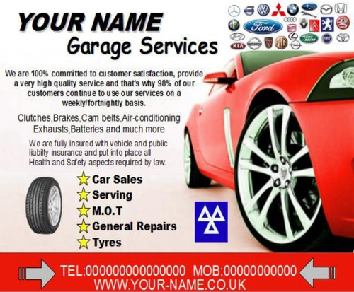 Product picture Garage Services Business Templates