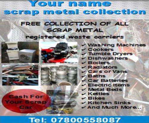 Product picture scrap metal business Templates